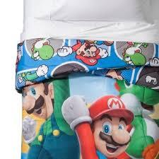 Mario Bros Bed Set Mario Brothers Bedding Target
