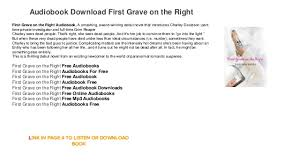 audiobook free trial grave on the right