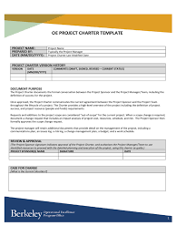 project charter template 18 free templates in pdf word excel