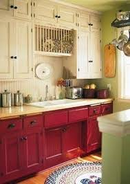red cabinets in kitchen wonderful red and white kitchen cabinets white kitchen cabinets