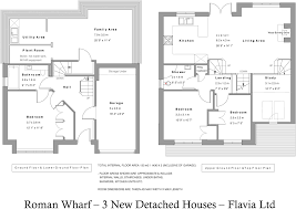 floor plan of a roman villa 3 bedroom detached house for sale in fishbourne chichester west