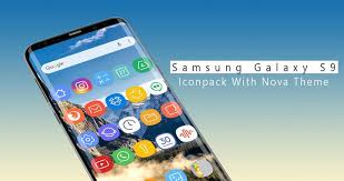 theme nova launcher android icon pack for samsung galaxy s9 nova launcher for android apk