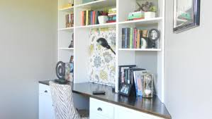 Bookshelves And Desk Built In by Diy Built In Office Cabinets Office Cabinetry Ideas Bookcase