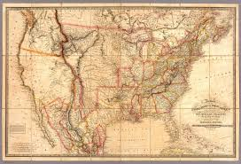 Map Of North America States by Fredonia Or The United States Of North America David Rumsey