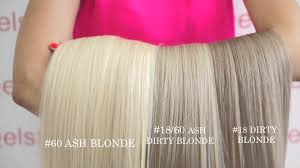 Blonde Hair Extensions Clip In by Clip In Hair Extensions Choose Color 60 Ash Blonde Youtube