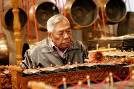 file traditional indonesian instrument being played at the
