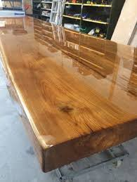 epoxy table top resin oak table top with transparent epoxy new home ideas pinterest