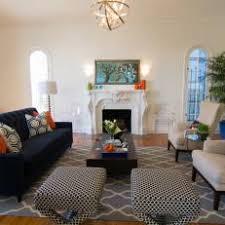 Navy Sofa Living Room | photos hgtv