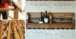 how to make rustic homemade wine rack diy u0026 crafts handimania