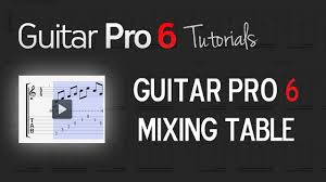 Mixing Table Chap 4 2 Understanding The Mixing Table U0027s Functionalities Youtube