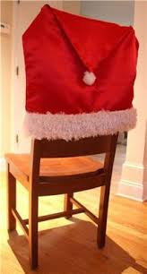 Diy Dining Room Chair Covers by 28 Best Holiday Chair Covers Images On Pinterest Christmas Ideas