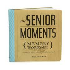 senior memory book senior moments memory workout seniors moment mental memory