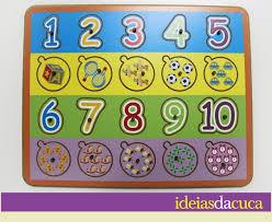 Top Jogo de Encaixe com pinos - Números no Elo7   Ideias da Cuca (4F3EF7) #MU28