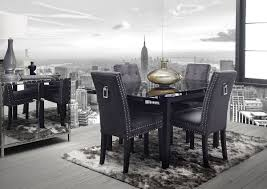 chair furniture impressive grey fabric dining room chairs for