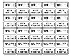 raffle ticket printing paper raffle tickets to print expin magisk co