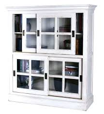 Bookcase With Door Glass Enclosed Bookcase Image Of Wood Bookcases With Glass Doors