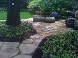 Limestone Patios Natural Stone Landscaping Aching Acres Landscaping