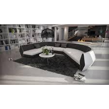 canapé demi cercle canapé d angle cuir design demi cercle style moderne