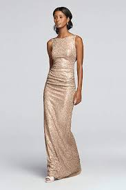 sequin bridesmaid dresses sequin sparkly bridesmaid dresses david s bridal