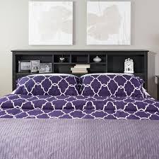 Purple Bookcase Latitude Run Wanda King Bookcase Headboard U0026 Reviews Wayfair