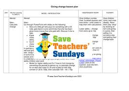 giving change ks1 worksheets lesson plans and powerpoint by