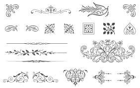 85 free vintage vector ornaments vector