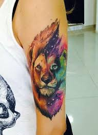 50 amazing lion tattoos along with their meanings color tattoo