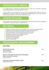 Resume Sample Management Skills by Guerrilla Resume Sample