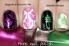 hit the bottle 5 new stamping colours more nail polish