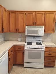 farmhouse kitchen with oak cabinets orange oak cabinets want farmhouse look