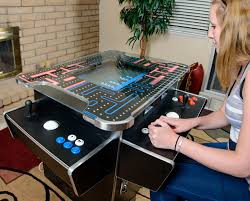 Table Top Arcade Games Ultimate Cocktail Table Arcade Machine With Vertical And