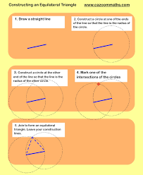 constructions cazoom maths worksheets
