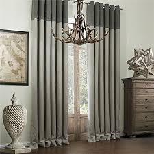 iyuegou classic bamboo fiber faux room darkening grommet top
