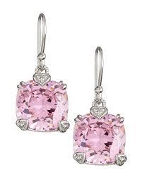 judith ripka earrings judith ripka pink cushion earrings gift boxed