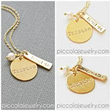 Baby Name Necklace Gold Personalized Gold Mom Jewelry Jewelry Ideas