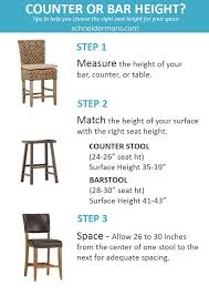 Kitchen Bar Stool Height Chart Ava Home Design Regarding New - Elegant dining table with bar stools residence