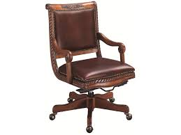 aspenhome napa leather office chair baer u0027s furniture office