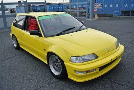 jdm cars honda osaka jdm car craft boon co ltd honda civic ef9 hatchback wide fenders