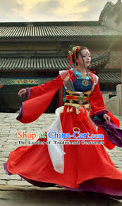 Chinese Costume Halloween Chinese Women Princess Halloween Costumes Baby Hanfu Clothes