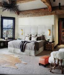 Modern Rustic Bedrooms - bedroom stunning rustic interiors for bedroom design with bed