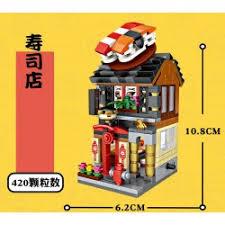 sushi shop siege nanoblock puzzle