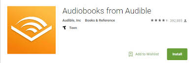 audible for android listen to audio books on android