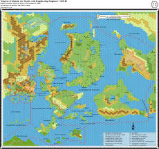 Pathfinder World Map by Mapping Issues
