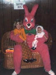 easter bunny costume these 45 easter bunnies traumatized children for well