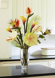 Silk Flowers In Vase Arrangements Choosing The Beautiful Vases And Artificial Flowers Arrangement To