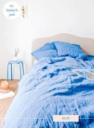 Blue Linen Bedding - take your pick bodie u0026 fou linen bedding bright bazaar by will
