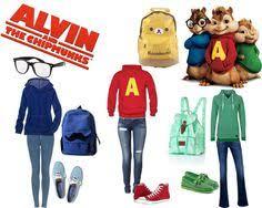 Alvin Chipmunk Halloween Costume Chipettes Jeanette Brittany Eleanor Alvin