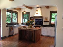 absorbing rustic kitchen with reclaimed rustic kitchen island by