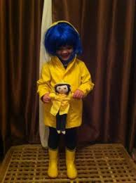 Coraline Halloween Costume Coraline Raincoat Halloween Costume Bad
