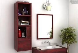 Bathroom Cabinet Online by Buy Wooden Bathroom Cabinets Online Only At Wooden Street
